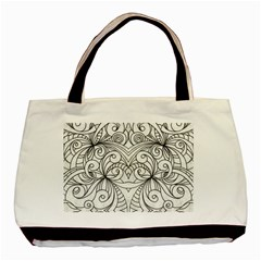 Drawing Floral Doodle 1 Classic Tote Bag by MedusArt