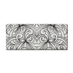 Drawing Floral Doodle 1 Hand Towel by MedusArt
