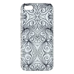 Drawing Floral Doodle 1 Iphone 5 Premium Hardshell Case by MedusArt
