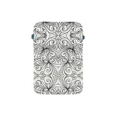 Drawing Floral Doodle 1 Apple Ipad Mini Protective Sleeve by MedusArt