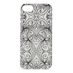 Drawing Floral Doodle 1 Apple Iphone 5s Hardshell Case by MedusArt