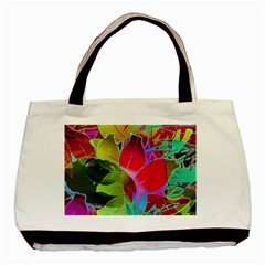 Floral Abstract 1 Classic Tote Bag by MedusArt