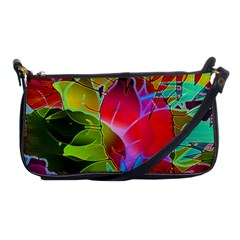 Floral Abstract 1 Evening Bag by MedusArt