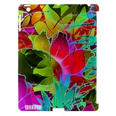 Floral Abstract 1 Apple Ipad 3/4 Hardshell Case (compatible With Smart Cover) by MedusArt