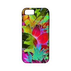 Floral Abstract 1 Apple Iphone 5 Classic Hardshell Case (pc+silicone) by MedusArt