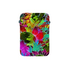 Floral Abstract 1 Apple Ipad Mini Protective Sleeve by MedusArt