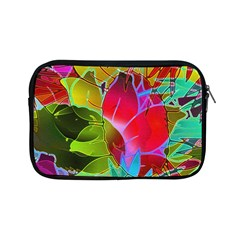 Floral Abstract 1 Apple Ipad Mini Zippered Sleeve by MedusArt