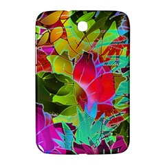 Floral Abstract 1 Samsung Galaxy Note 8 0 N5100 Hardshell Case  by MedusArt