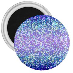 Glitter2 3  Button Magnet