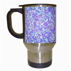 Glitter2 Travel Mug (white) by MedusArt