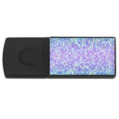 Glitter2 4gb Usb Flash Drive (rectangle) by MedusArt