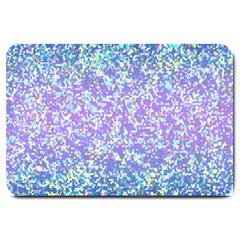 Glitter2 Large Door Mat by MedusArt