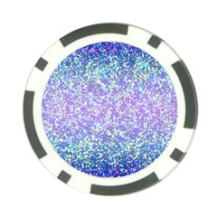 Glitter2 Poker Chip by MedusArt