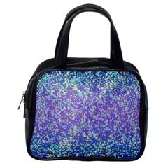 Glitter2 Classic Handbag (one Side) by MedusArt