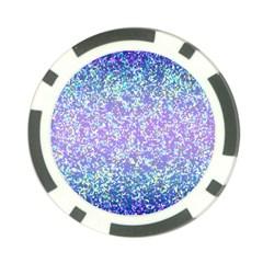 Glitter2 Poker Chip (10 Pack) by MedusArt