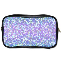 Glitter2 Travel Toiletry Bag (two Sides) by MedusArt
