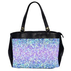Glitter2 Oversize Office Handbag (two Sides) by MedusArt
