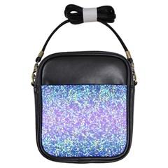 Glitter2 Girl s Sling Bag by MedusArt