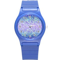 Glitter2 Plastic Sport Watch (small) by MedusArt