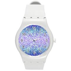 Glitter2 Plastic Sport Watch (medium) by MedusArt