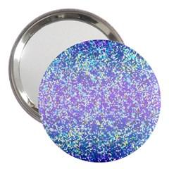 Glitter2 3  Handbag Mirror by MedusArt
