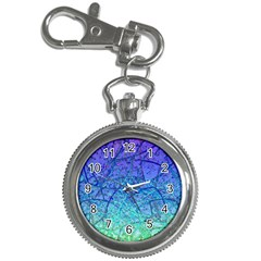 Grunge Art Abstract G57 Key Chain Watch by MedusArt