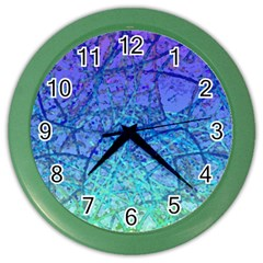 Grunge Art Abstract G57 Color Wall Clock by MedusArt