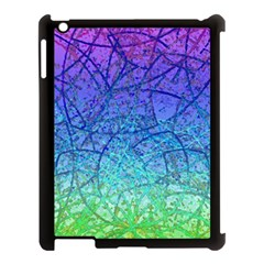 Grunge Art Abstract G57 Apple Ipad 3/4 Case (black) by MedusArt
