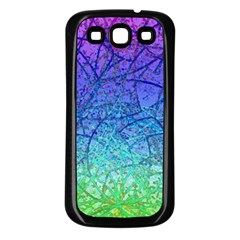 Grunge Art Abstract G57 Samsung Galaxy S3 Back Case (black) by MedusArt