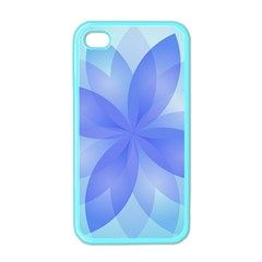 Abstract Lotus Flower 1 Apple Iphone 4 Case (color) by MedusArt