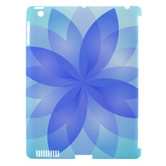 Abstract Lotus Flower 1 Apple Ipad 3/4 Hardshell Case (compatible With Smart Cover) by MedusArt