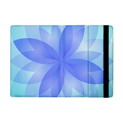 Abstract Lotus Flower 1 Apple Ipad Mini Flip Case by MedusArt