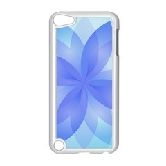 Abstract Lotus Flower 1 Apple Ipod Touch 5 Case (white) by MedusArt