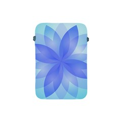 Abstract Lotus Flower 1 Apple Ipad Mini Protective Sleeve by MedusArt