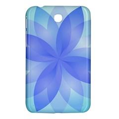 Abstract Lotus Flower 1 Samsung Galaxy Tab 3 (7 ) P3200 Hardshell Case  by MedusArt
