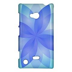 Abstract Lotus Flower 1 Nokia Lumia 720 Hardshell Case by MedusArt