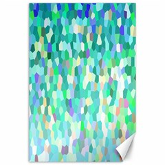 Mosaic Sparkley 1 Canvas 24  X 36  (unframed) by MedusArt