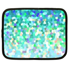 Mosaic Sparkley 1 Netbook Sleeve (xxl) by MedusArt