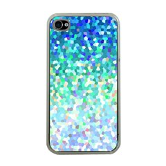 Mosaic Sparkley 1 Apple Iphone 4 Case (clear) by MedusArt