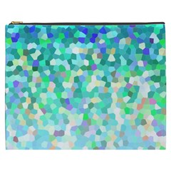 Mosaic Sparkley 1 Cosmetic Bag (xxxl) by MedusArt