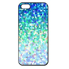 Mosaic Sparkley 1 Apple Iphone 5 Seamless Case (black) by MedusArt
