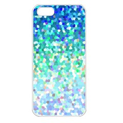 Mosaic Sparkley 1 Apple Iphone 5 Seamless Case (white) by MedusArt