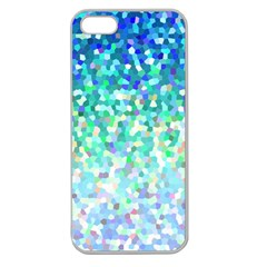 Mosaic Sparkley 1 Apple Seamless Iphone 5 Case (clear) by MedusArt