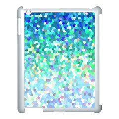 Mosaic Sparkley 1 Apple Ipad 3/4 Case (white) by MedusArt