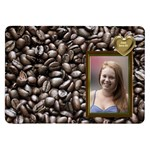 Coffee Samsung Galaxy 8.9  P7300 Flip Case - Samsung Galaxy Tab 8.9  P7300 Flip Case