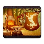 King s Forge - Rabbits - Large Mousepad