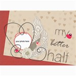 My better Half card 7x5 - 5  x 7  Photo Cards