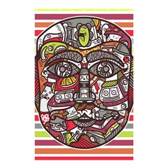 Mask Shower Curtain 48  X 72  (small)