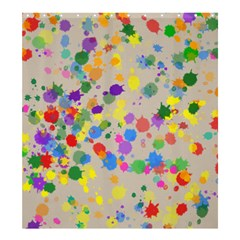 Painted Curtain Shower Curtain 66  X 72  (large)