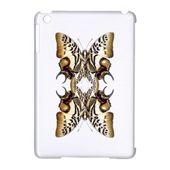 Butterfly Art Ivory&brown Apple Ipad Mini Hardshell Case (compatible With Smart Cover) by BrilliantArtDesigns